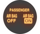 SRS Airbag On-Off Indicator